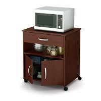 10015 Cherry Microwave Cart - Fiesta