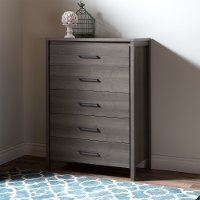 9036035 Gray Maple 5-Drawer Chest - Gravity