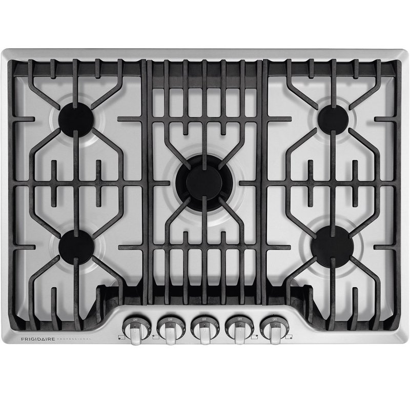 Fpgc3077rs Frigidaire Professional 30 Inch 5 Burner Gas Cooktop Stainless Steel
