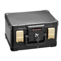 1102 Honeywell 1102 Water & Fire Proof Small Personal Safe