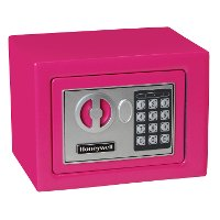 5005P Honeywell 5005 Small Digital Lock Security Safe - Pink