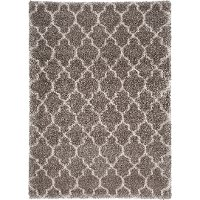 8 x 11 Large Stone Gray Area Rug - Amore
