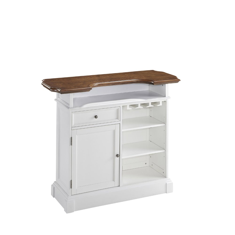 White Bar Cabinet - Americana | RC Willey Furniture Store