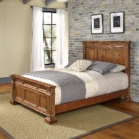 Classic Vintage Natural Queen Bed - Americana