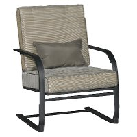 KTS834G/SPRINGCHAIR Revere Collection Spring Outdoor Patio Lounge Chair