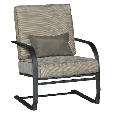 KTS834G/SPRINGCHAIR Spring Outdoor Patio Lounge Chair   Revere
