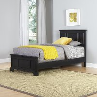 Black Twin Bed - Bedford