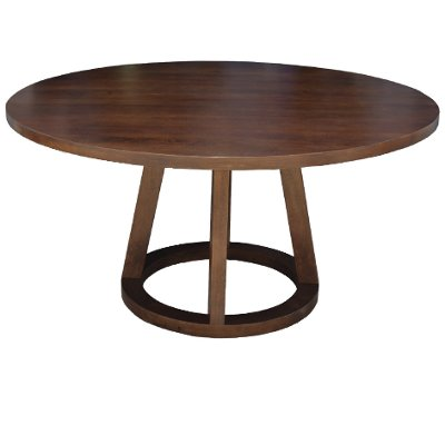 Mendocino Mango Wood Modern 72 Round Dining Table RC Willey