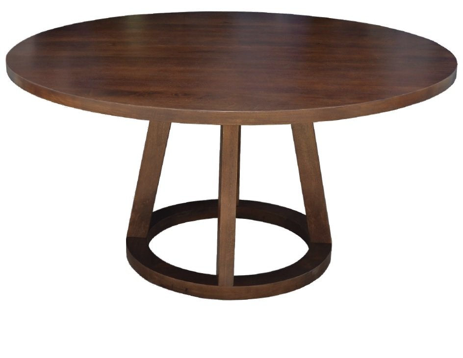 Mango 5 Piece 84 Inch Round Dining Set Mendocino RC  : Mendocino Mango Wood Modern 84 Round Dining Table rcwilley image1 from www.rcwilley.com size 944 x 731 jpeg 35kB