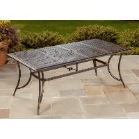 Outdoor Patio Dining Table - Manhattan