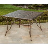 Square Bar Height Patio Outdoor Dining Table - Manhattan