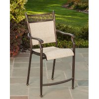 24 Inch Patio Outdoor Bar Stool - Manhattan