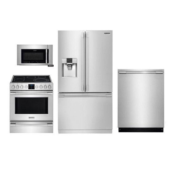 Kit Frigidaire Professional Series Electric Kitchen Liance Package