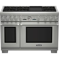 PRD486JDGU Thermador 48 inch Professional Series Pro Grand Commercial Depth Dual Fuel Range
