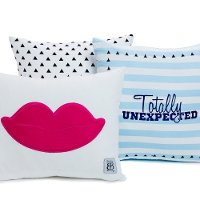 Beddy's Totally Unexpected Pillow Collection