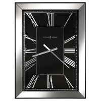 Black and Mirror Ceara Wall Clock