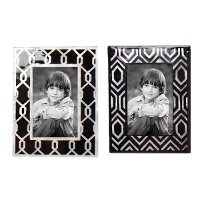 10309-A/2-IND/FRAME Assorted Black and White Picture Frame