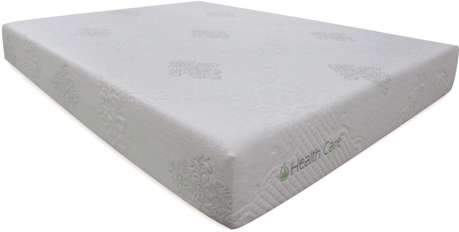 queen 8 inch comfort memory foam mattress