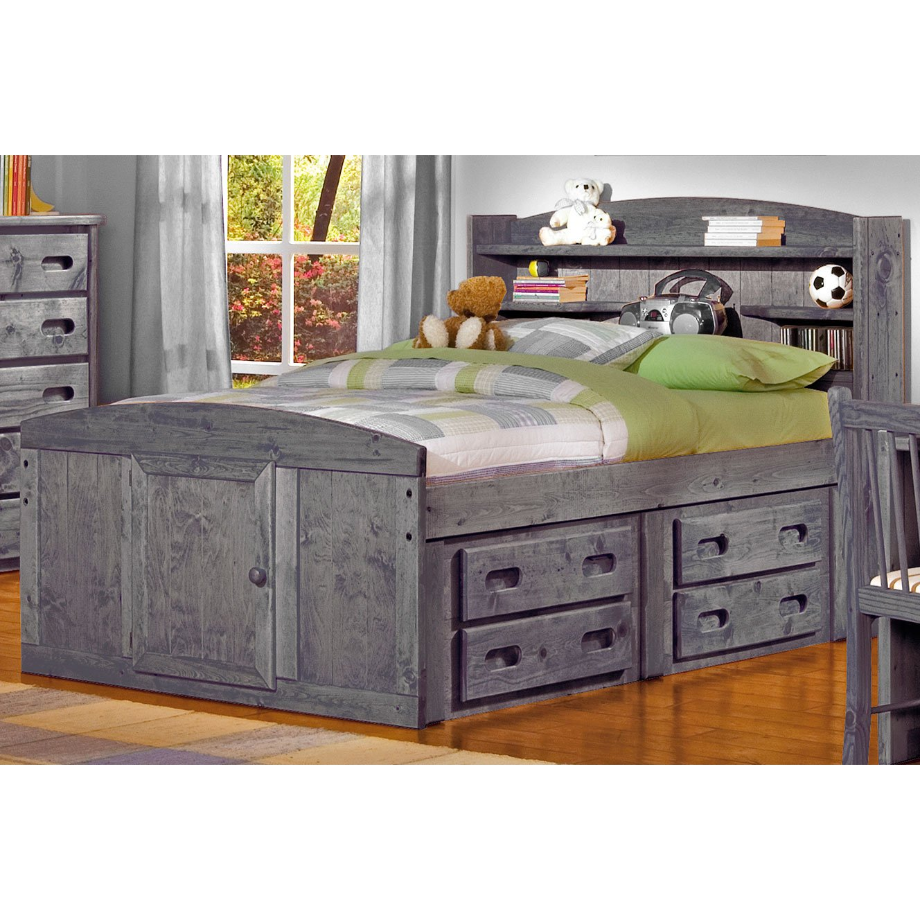 Driftwood Twin Bed