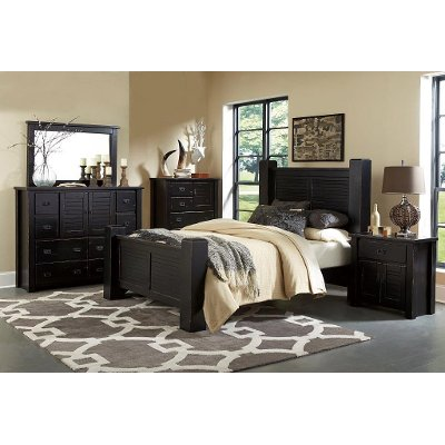 Black King Size Bedroom Sets king size bed, king size bed frame & king bedroom sets | rc willey