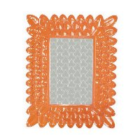 9 Inch Resin Orange Picture Frame