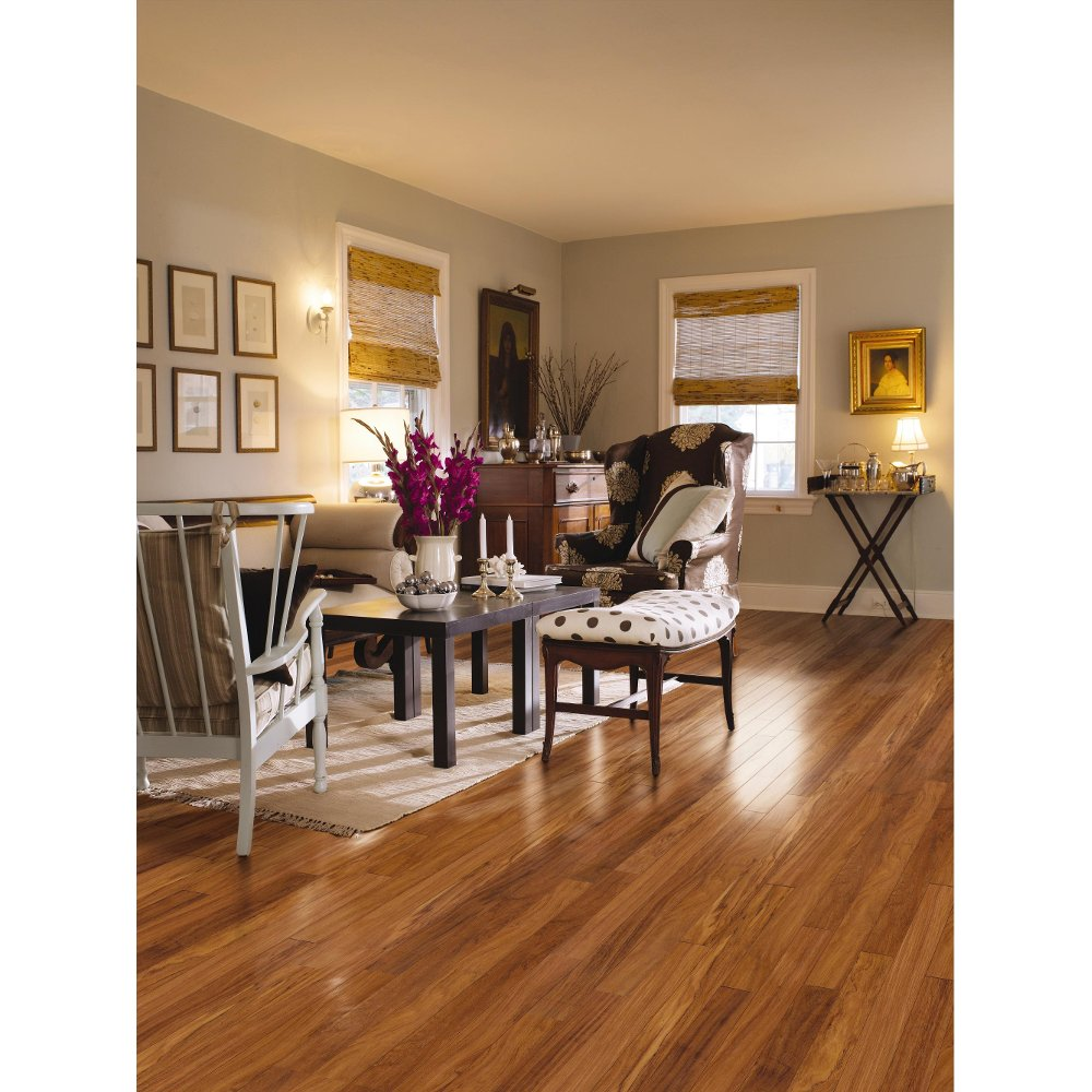 Hickory  Walnut Maple Visuals Mannington Revolutions Laminate wood flooring waterproof RC Willey Furniture