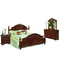 Davis 6 Piece Queen Bedroom Set Rc Willey Furniture Store