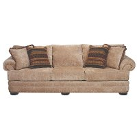 Tan Casual Traditional Sofa - Adair