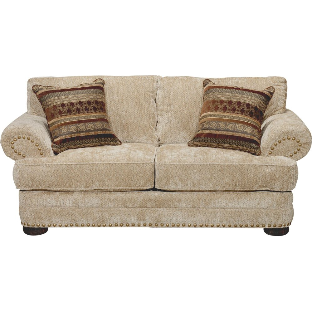 tan leather loveseat upscale terracotta consignment
