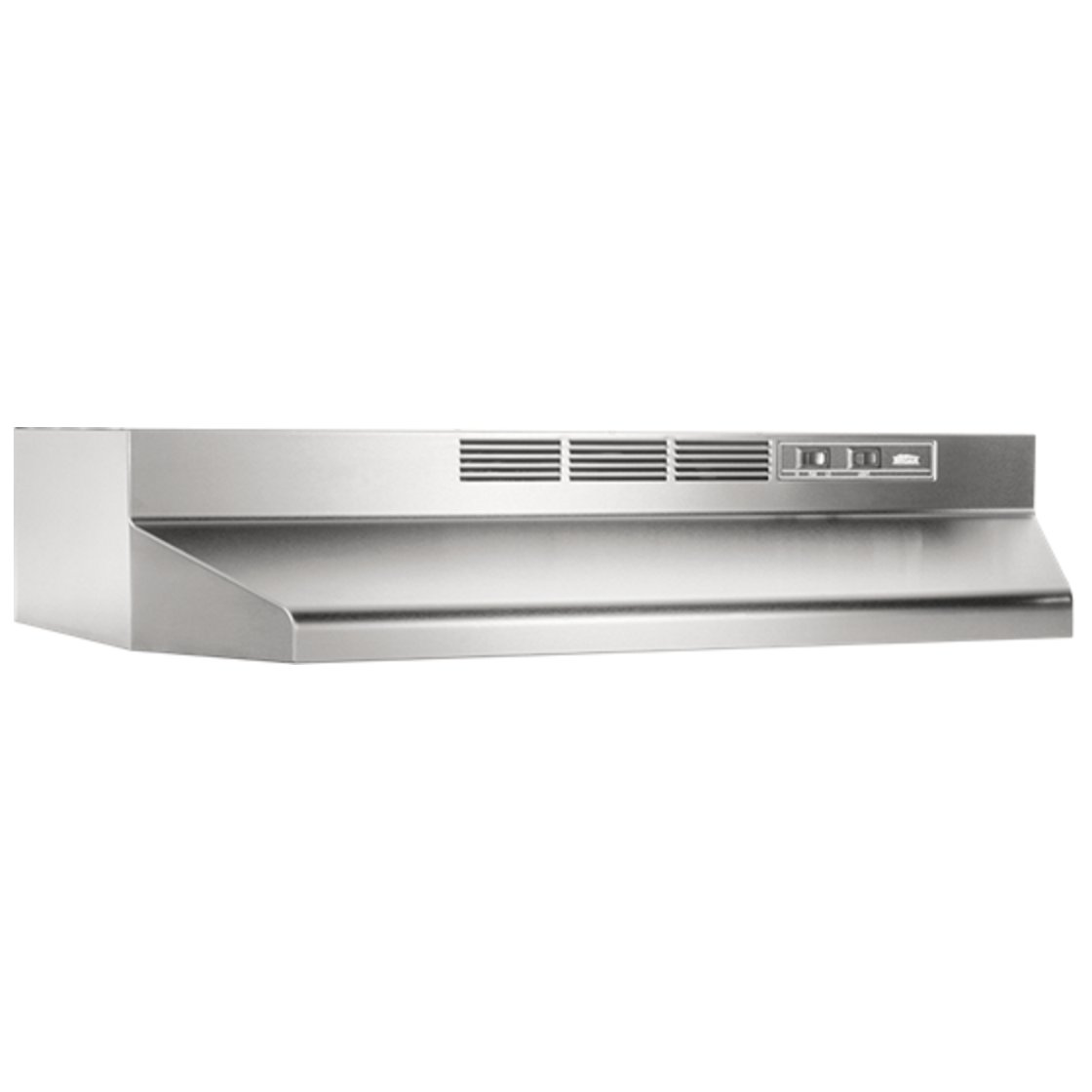 broan 30 stainless steel under cabinet hood nonducted